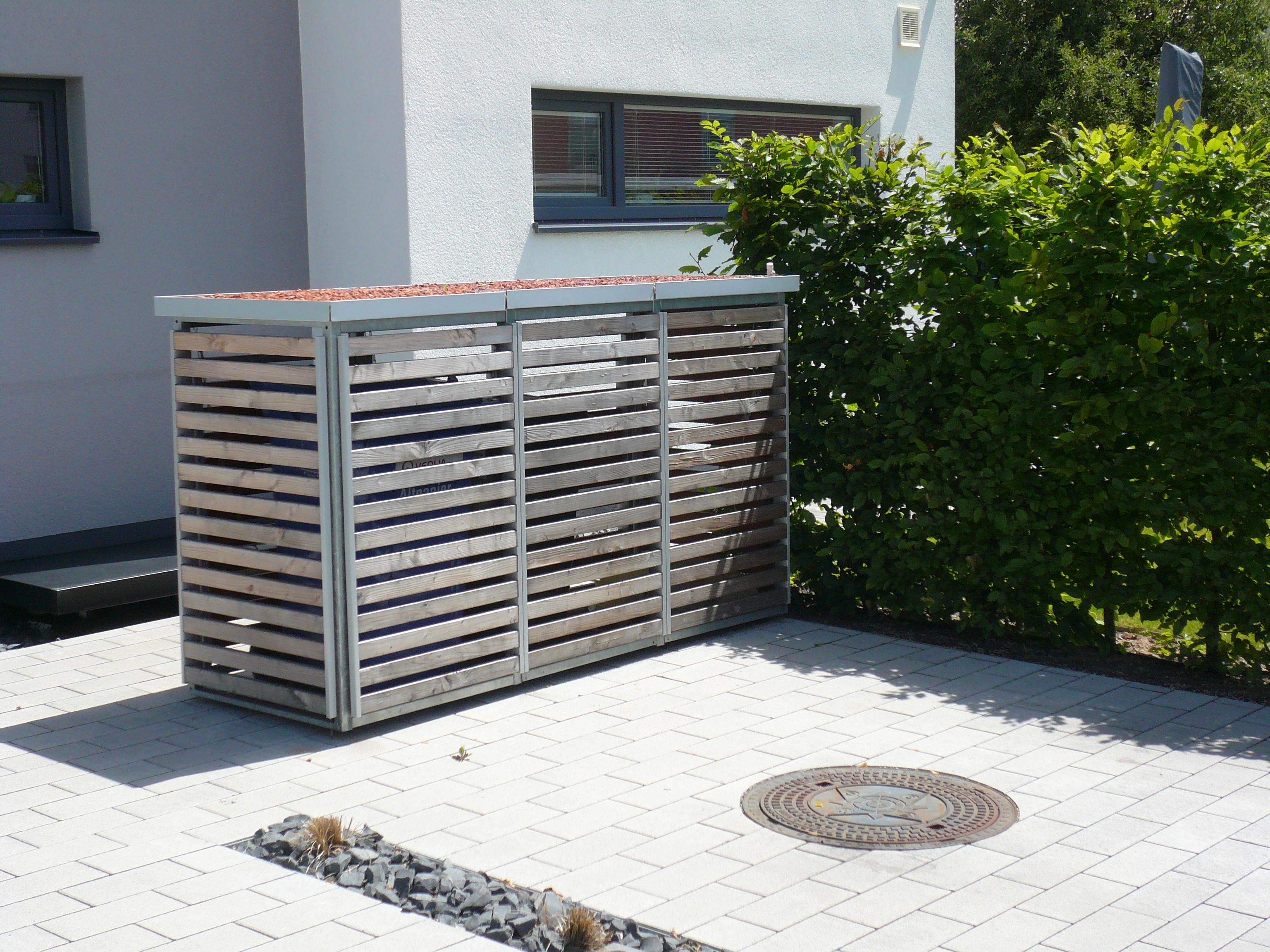 Mülltonnenbox - Mülltonneneinhausung - Mülltonnendepot