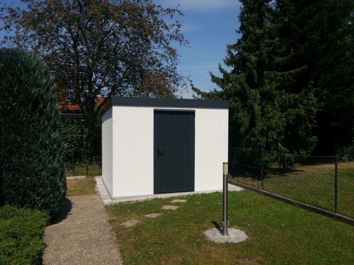 Gartengerätehaus aus Stahl (Mehrzweckraum) - BRANDL