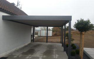 Einzel-Carport mit Wandmontage - BRANDL
