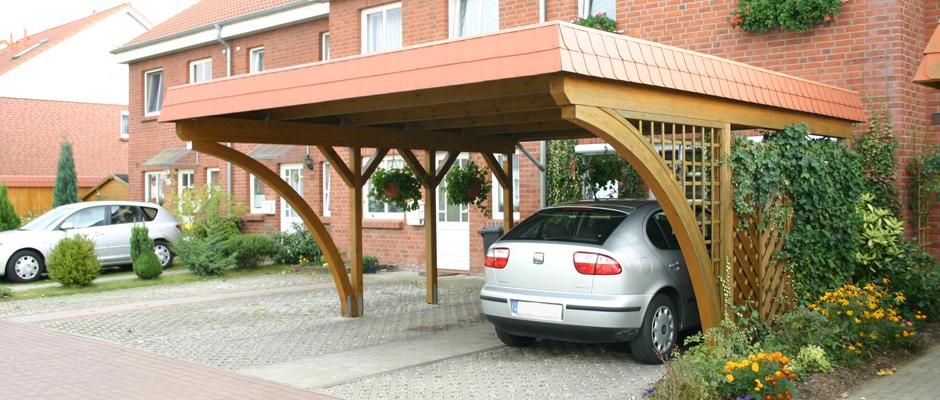 Holz-Carport