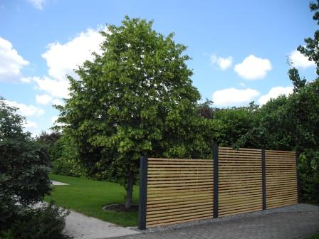 Carport-DESIGNO-Zaunelemente (Sichtschutz)