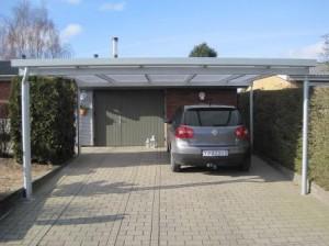 Carport mit Pultdach - BRANDL