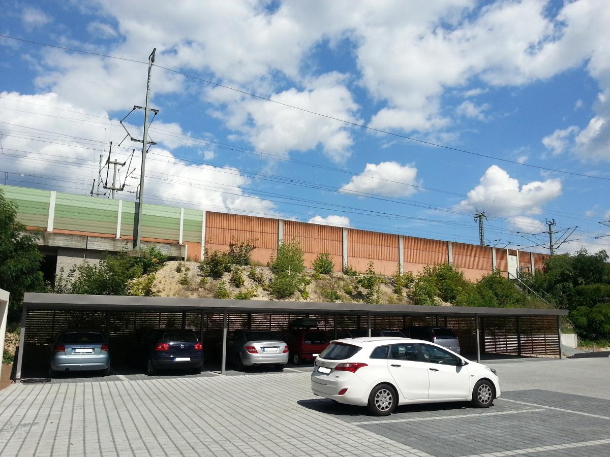 Carport-Reihenanlage - BRANDL
