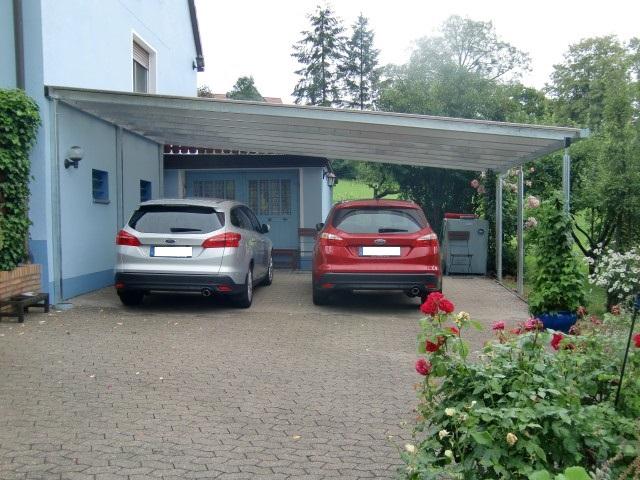 Doppel-Carport mit Pultdach - Überdachung - BRANDL