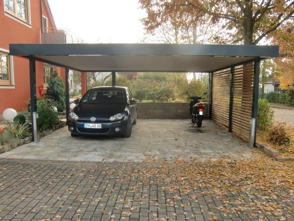 Doppel-Carport - BRANDL