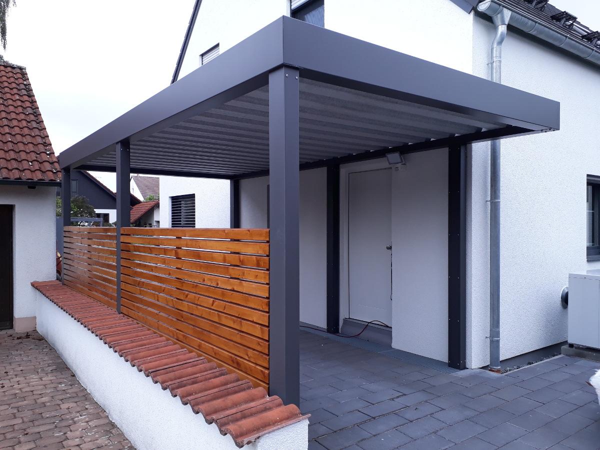 Carport aus Stahl - BRANDL