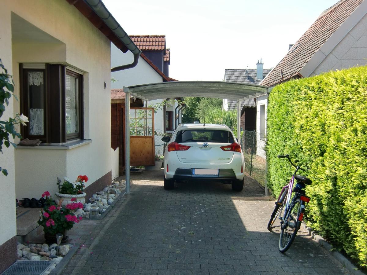 Einzel-Carport mit Bogendach (Überdachung) - BRANDL