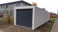 Einzel-Garagen aus Beton hintereinander - BRANDL