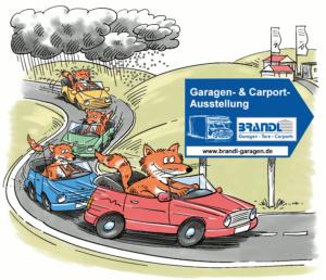 Fuchs in Autos - BRANDL